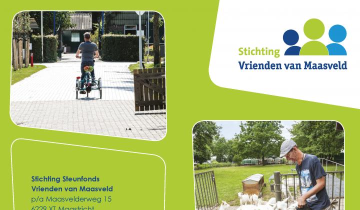 Brochure Vrienden van Maasveld
