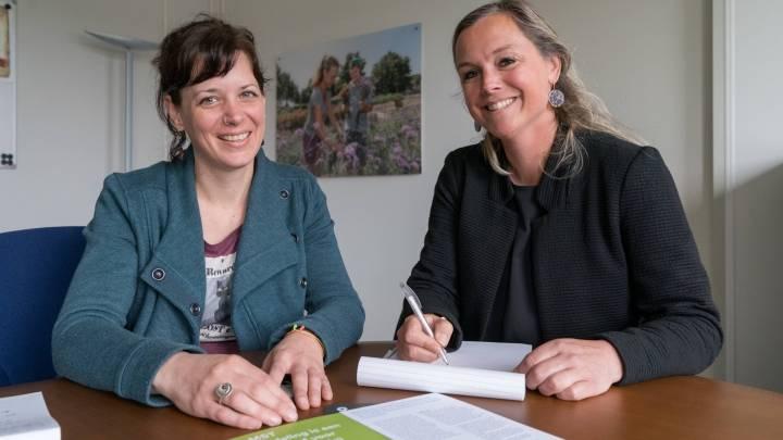Koraal MST-ID Stephanie Frissen en Renée Dekker