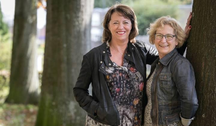 Inge Koopmans (links) en Tonny van der Velden